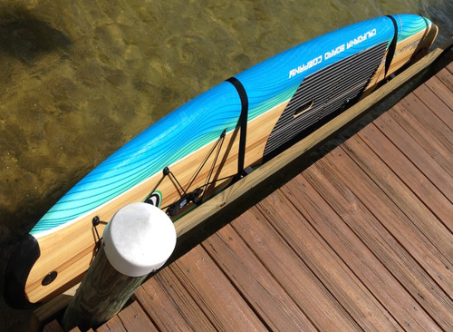 Clearance | Outdoor SUP Wall Rack | Galvanized Saltwater Storage | Demo