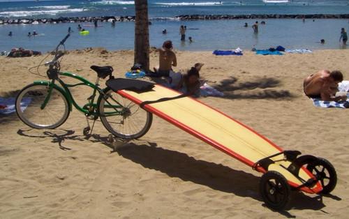 sup and surfboard bike rack