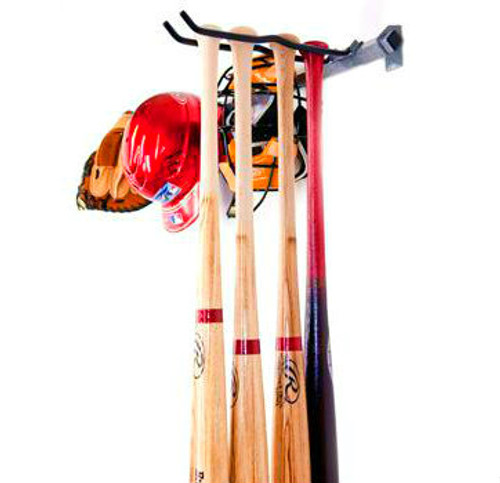 Baseball Equipment Storage Rack