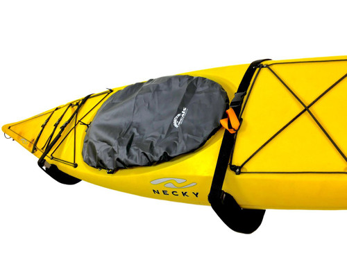 Clearance | Padded Kayak Wall Rack | Adjustable Safety Strap | Demo