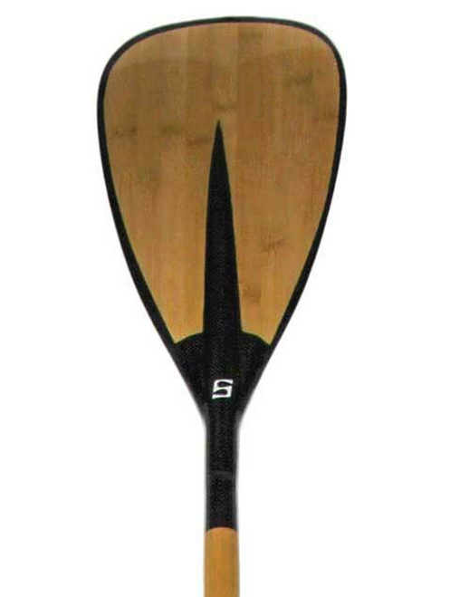 Carbon Fiber Bamboo SUP Paddle | Fixed Shaft
