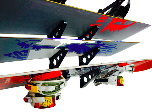 snowboard wall rack multi decks