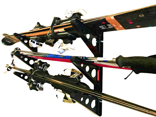 Ski Storage Trifecta Rack | Horizontal Rack