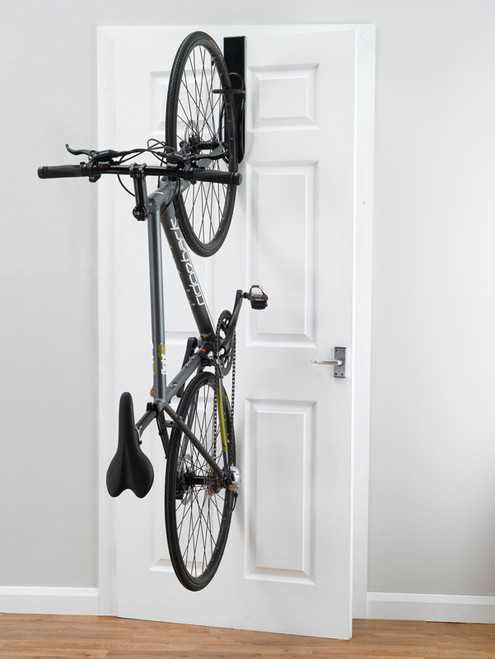 apartment door bike rack removable