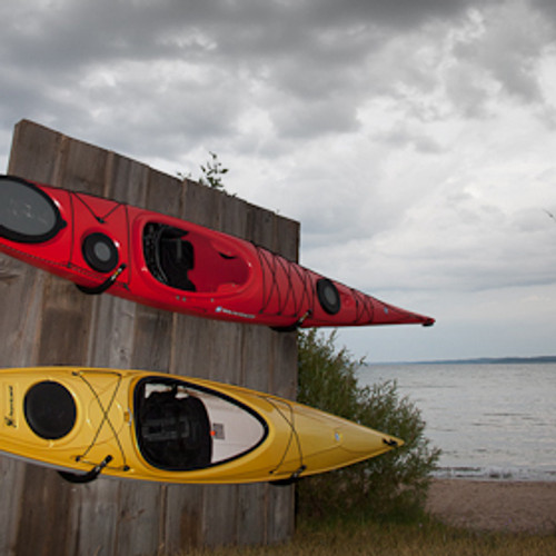 kayak storage rack indoor and outdoor