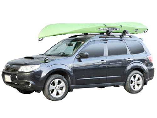 kayak locking car rack