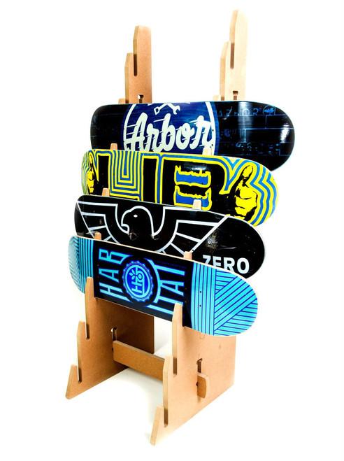 Freestanding Skateboard Floor Rack