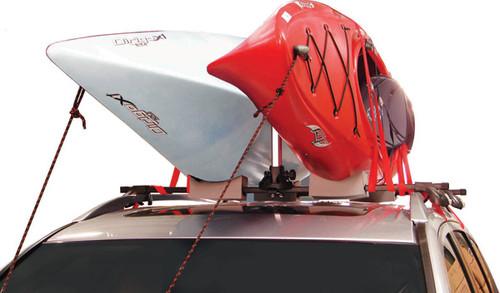 kayak roof rack that holds 2 kayaks
