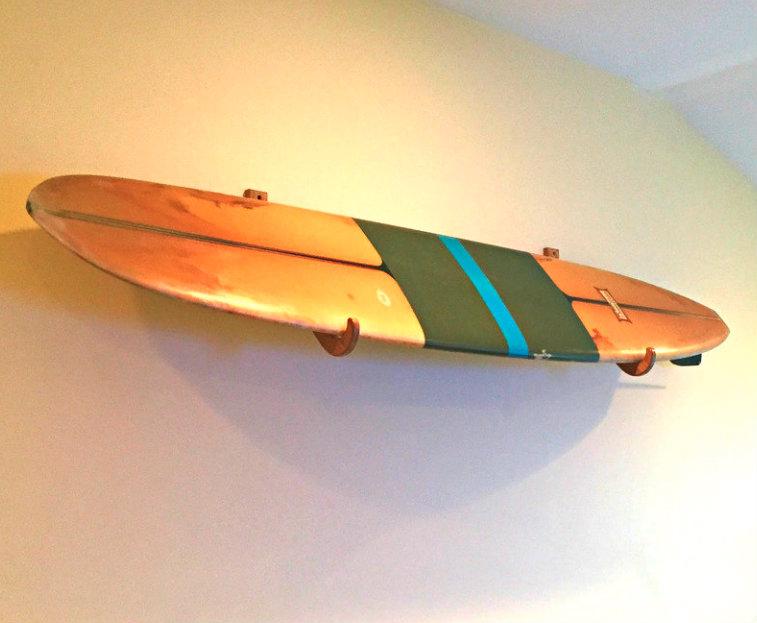 Nice Decorative Surfboard Wall Racks Component - Wall Painting Ideas ...
