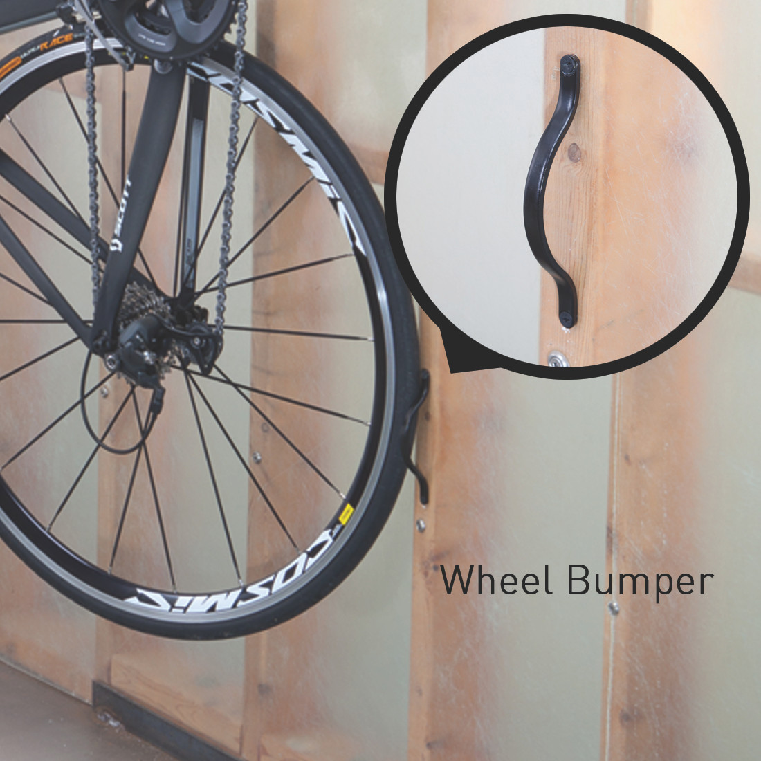 bike storage swivel hook & Swivel Bike Hook Rack - StoreYourBoard.com