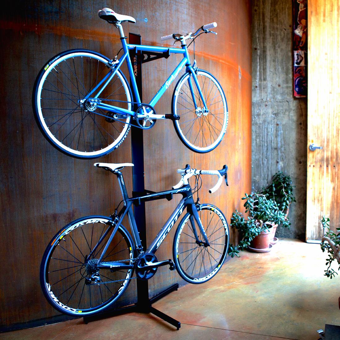 Double Home Bike Storage Rack