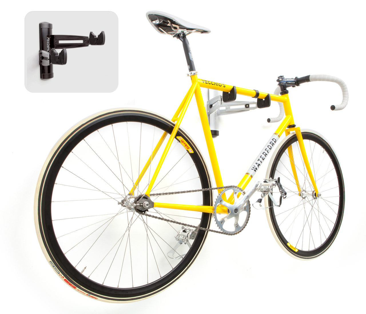 adjustable home bike storage rack  sc 1 st  StoreYourBoard & Adjustable Steel Bike Wall Rack | Bike Storage Mount ...