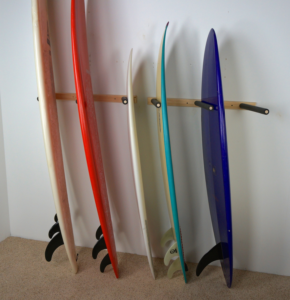 Surf Storage · Garage Surfboard Rack