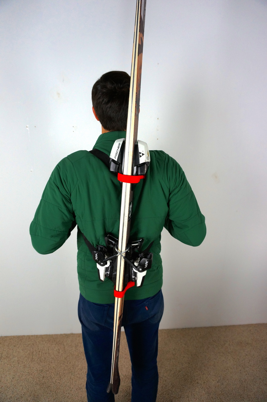 Ski Backpack Carry Straps Mountain Goat Tote