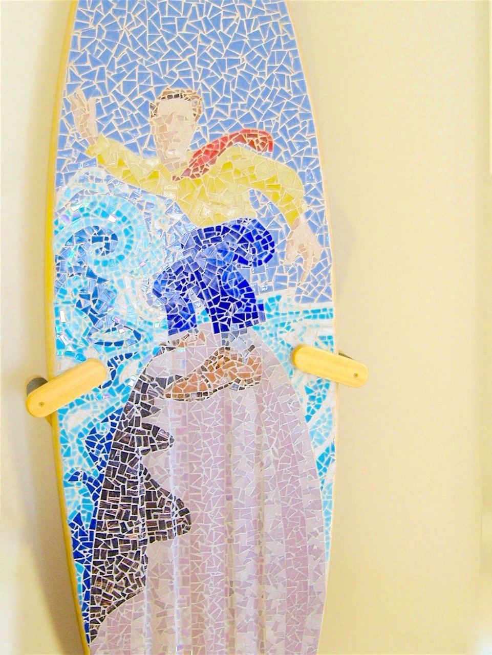 Surfboard Floor Display Stand - StoreYourBoard.com