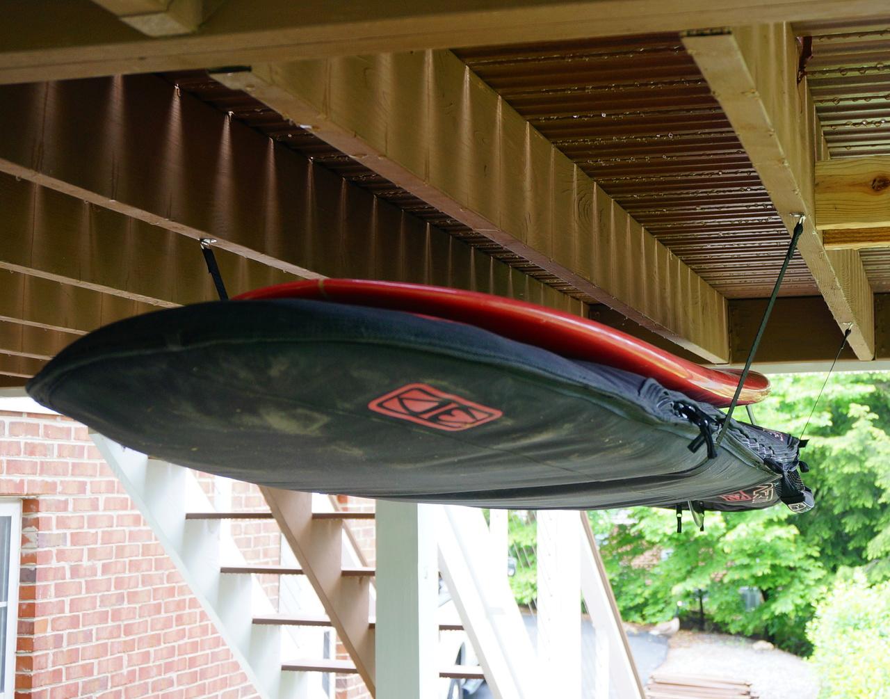 Surfboard Hi Line Adjustable Ceiling Surf Hanger