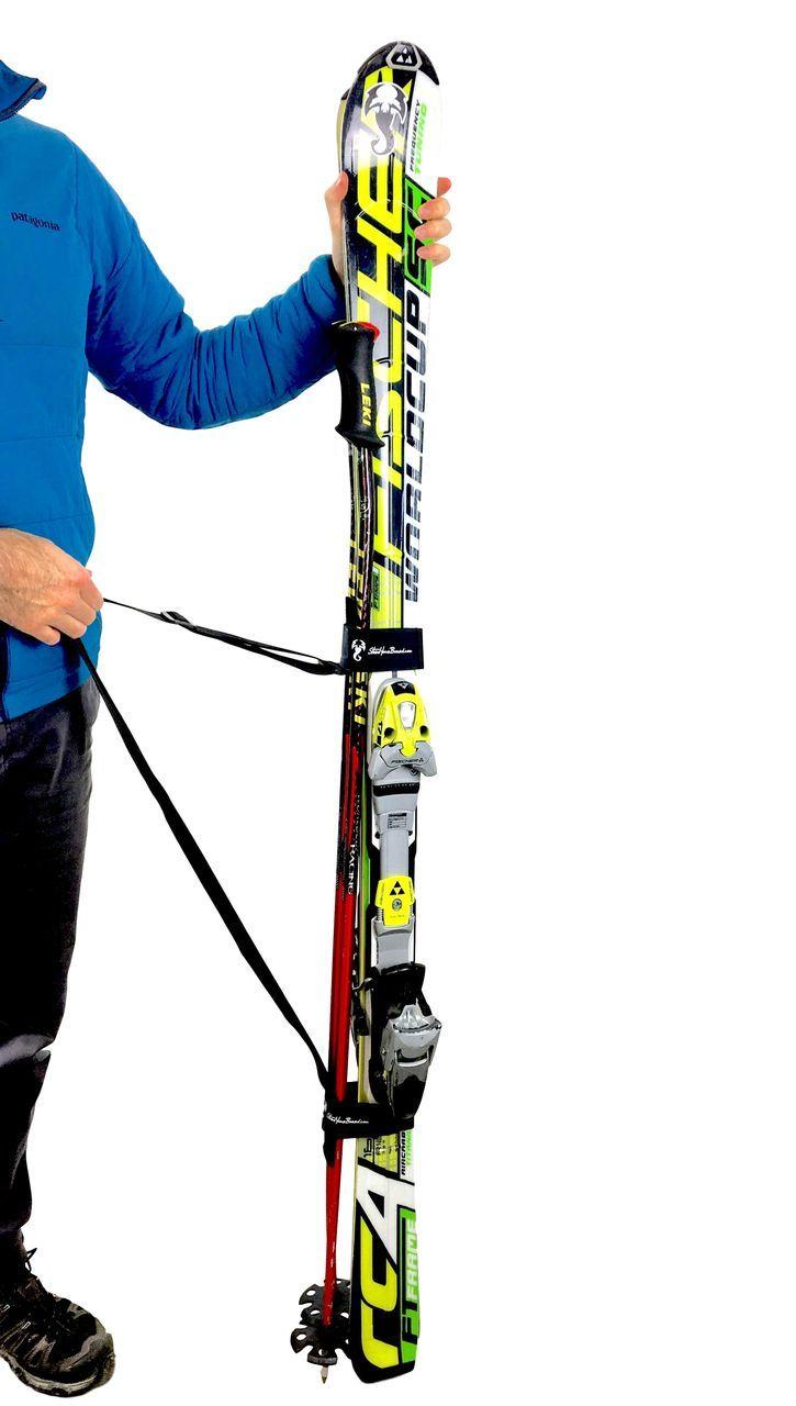 Ski And Pole Carrier Shoulder Strap Storeyourboard Com