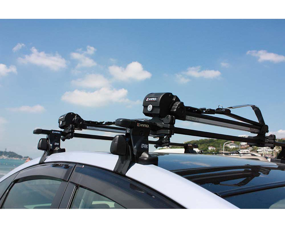 Locking Surfboard Roof Rack System Inno Boardlocker