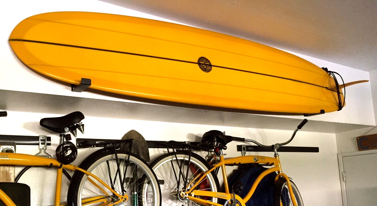 WaveStorm Surfboard Storage Rack | Minimalist Surfboard Rack ...