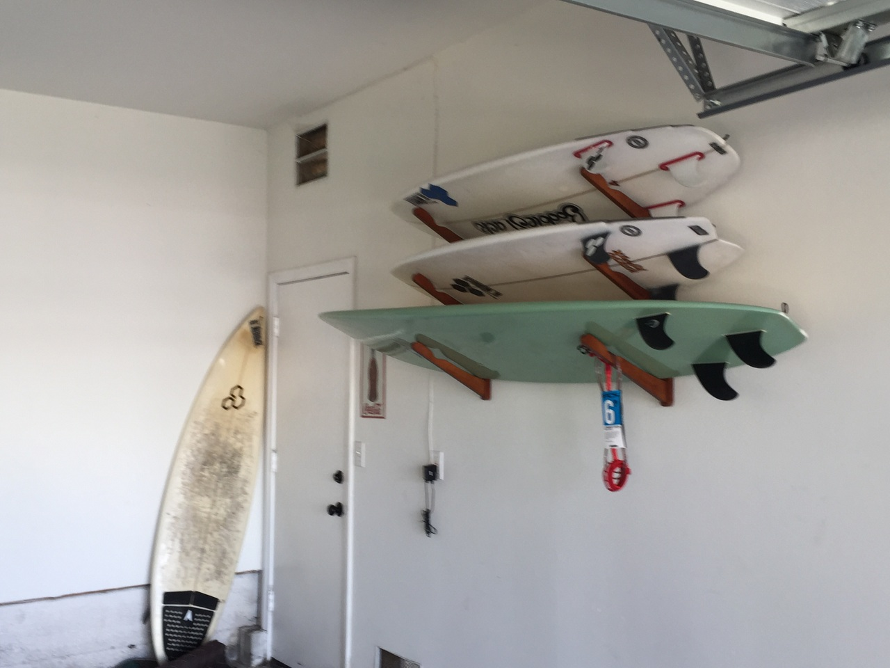 Garage Surfboard Rack : garage surfboard storage  - Aquiesqueretaro.Com