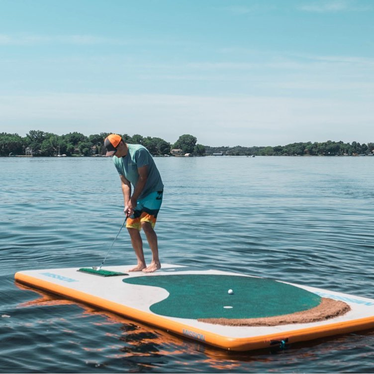 Inflatable REEF Mat | Floating Outdoor Water Mat ...