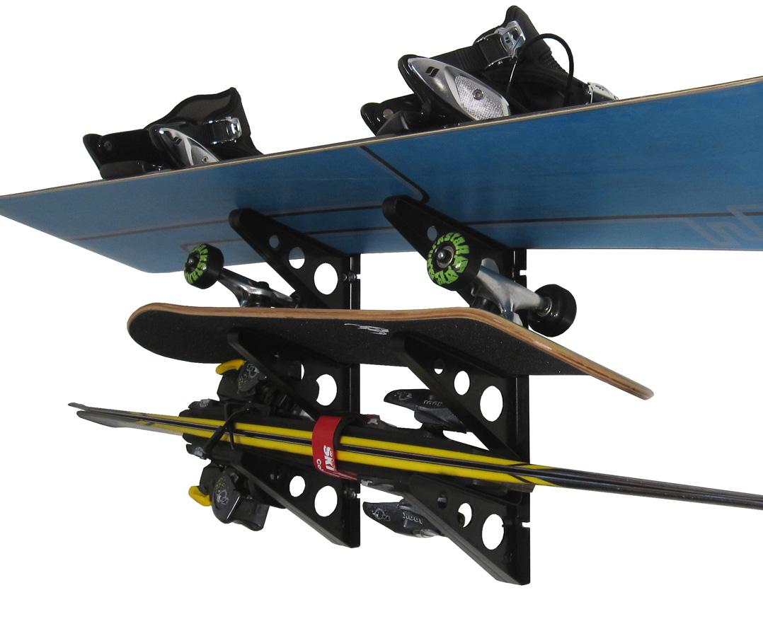 Trifecta Snowboard Storage Rack Storeyourboard Com