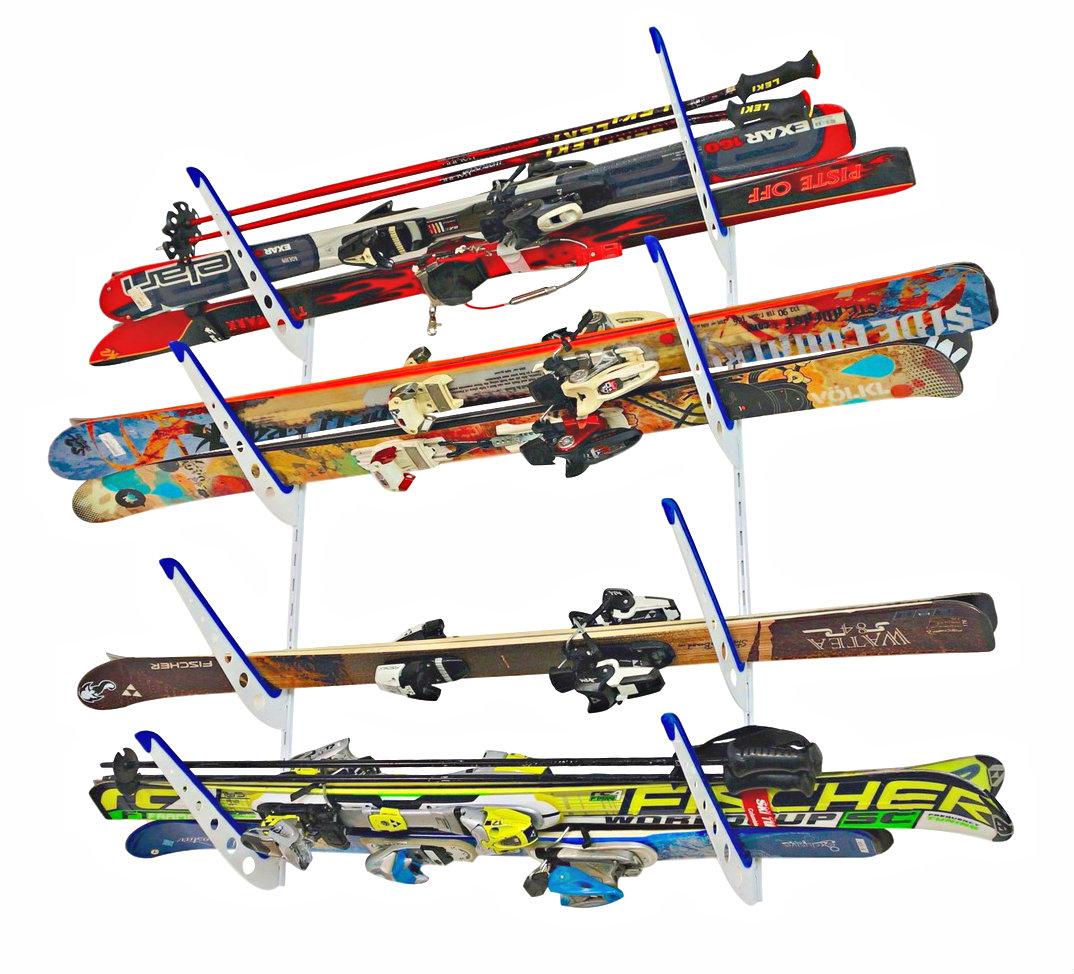 Horizontal Ski Storage Rack Adjustable Storeyourboard Com