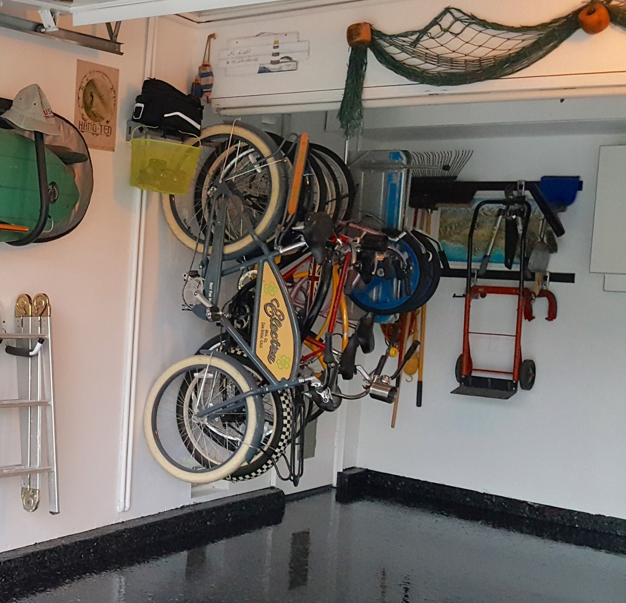 shed storage in wall bike for products bikes up mount to hang holds duty indoor heavy zappabikehang garage vertical system