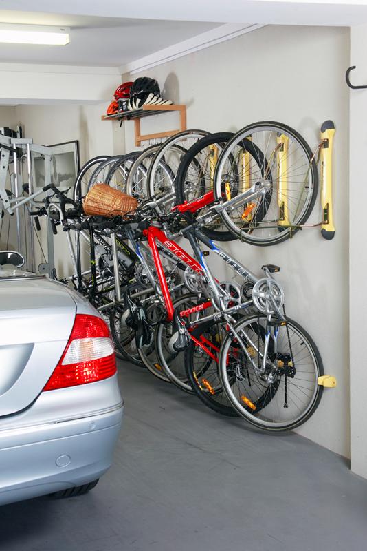 garage bike racks - Garage Bike Rack