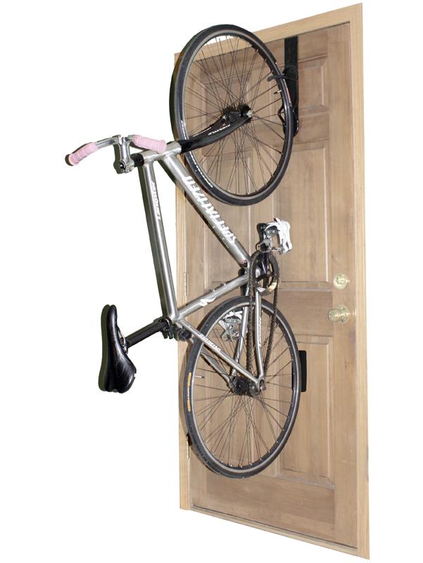 Apartment Door Bike Rack | Removable - StoreYourBoard.com