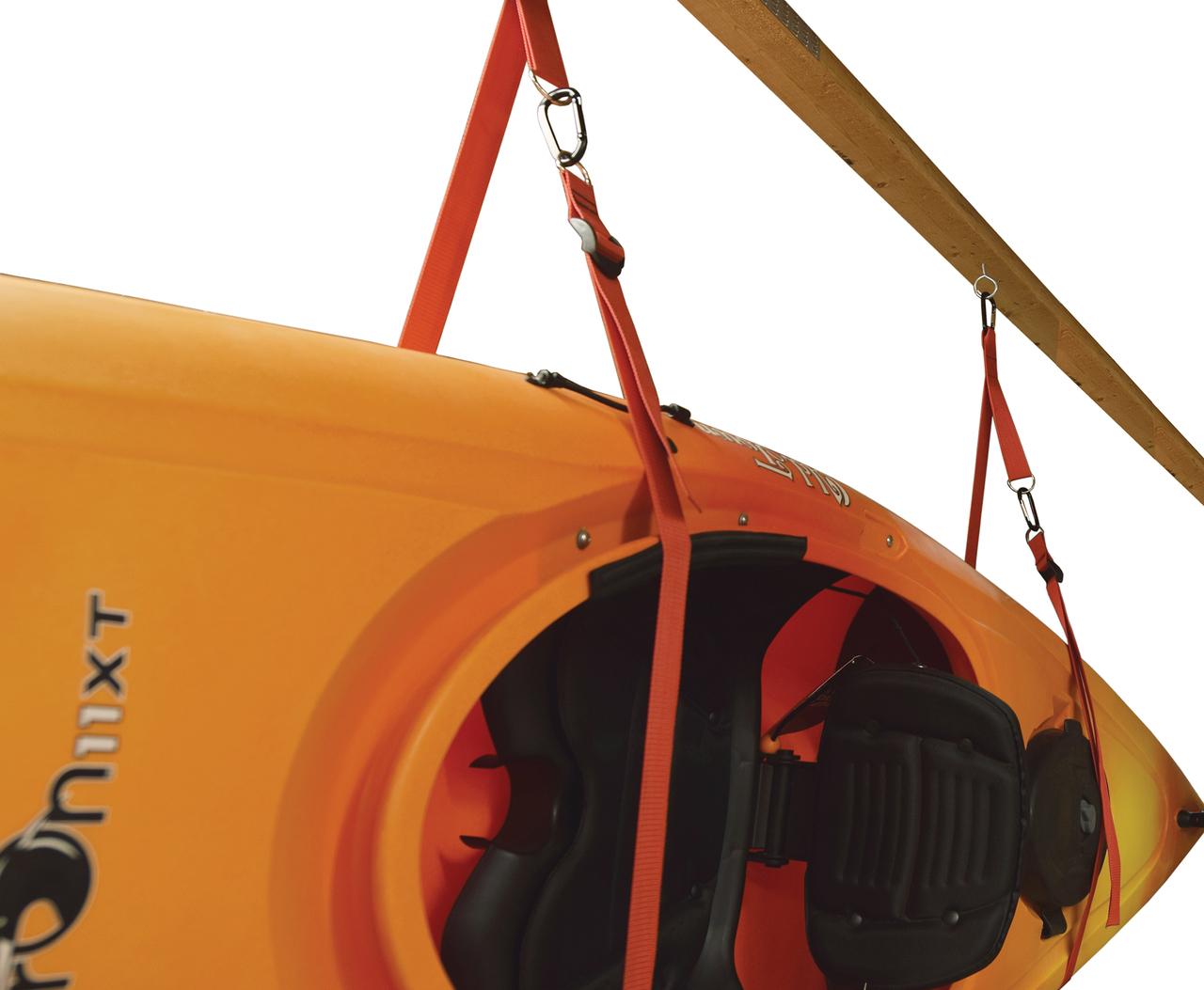 Hanging Kayak Storage Strap Fits 3 Kayaks