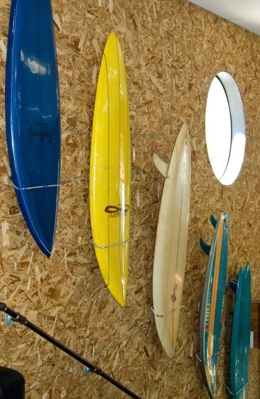 Old Fashioned Decorative Surfboard Wall Racks Model - All About ...