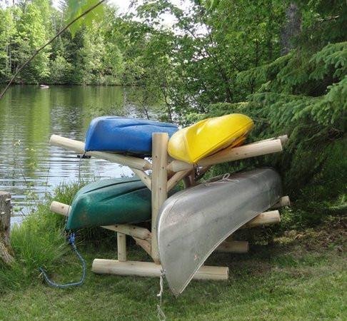 Ordinaire Four Kayak Log Rack