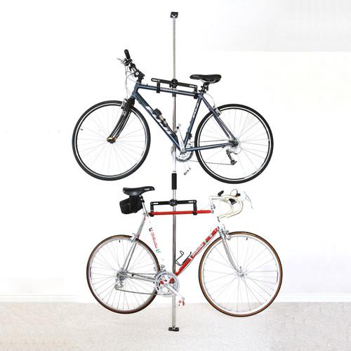 bike storage rack for apartment pressure mount. Black Bedroom Furniture Sets. Home Design Ideas