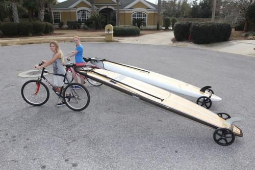Sup Bike Trailer Tow Paddleboard Behind Bike