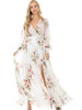 Petalroz Dress - Maxi Dress, Long Sleeve