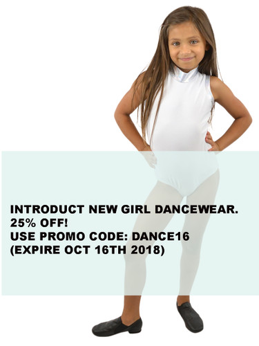 INTRODUCT NEW COLLECTION: GIRL DANCE-WEAR