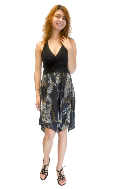Dress - Halter Neck, Printed