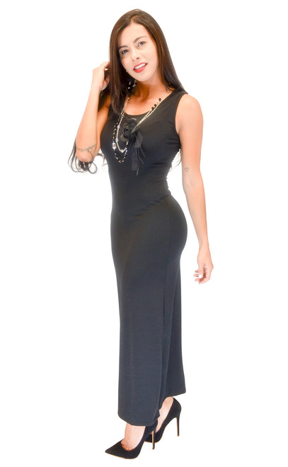 Vivian's Fashions Dress - Sleeveless Maxi