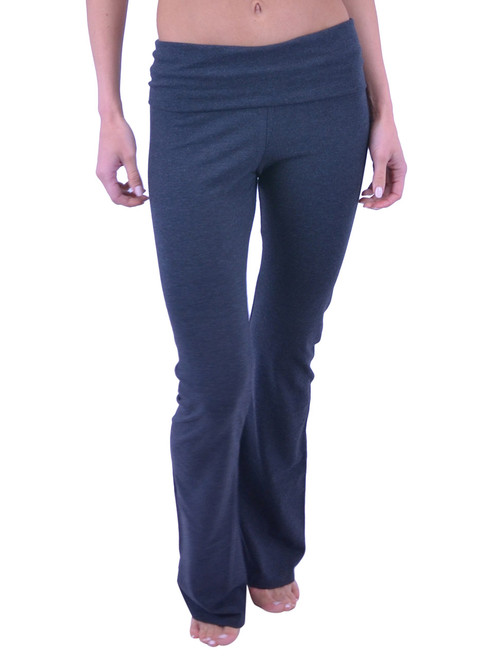 Vivian's Fashions Yoga Pants - Extra Long (Misses and Misses Plus Sizes)