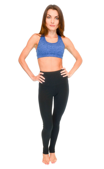 VF-Sport High Waist Workout Tights - Cationic Poly (Misses & Misses Plus Sizes)
