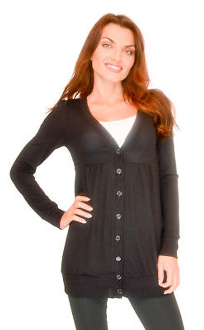 Vivian's Fashions Sweater - Long Cardigan