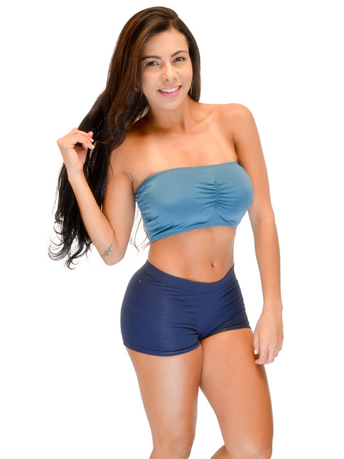 Vivian's Fashions Top - Tube Top with Bra Cups (Women and women Plus)