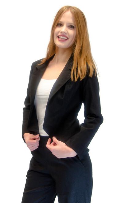 Vivian's Fashions Jacket - Stretch Basic Jacket