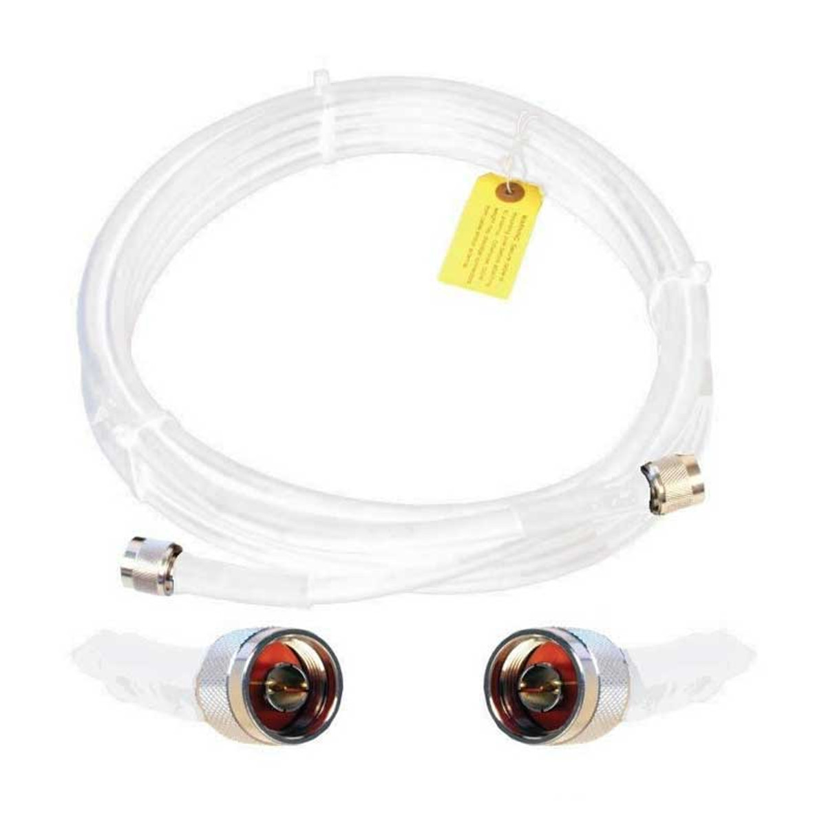 Wilson 952410 10-Foot WILSON400 Ultra Low Loss Coaxial Cable N Male ''Î'''_to N Male White, detail