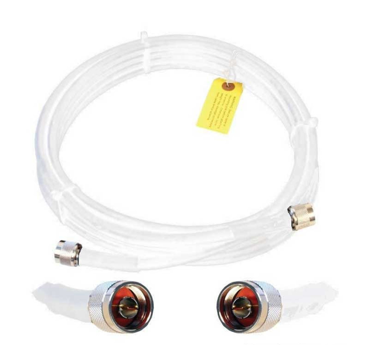 Wilson 952420 20-Foot WILSON400 Ultra Low Loss Coaxial Cable N Male to N Male White, detail