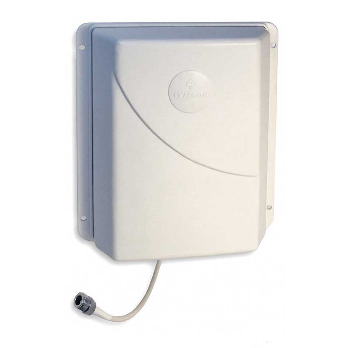 Wilson 304471 Ceiling Mount Panel Antenna 700-2700Mhz 75 ohms Multi Band, with ceiling mount installed