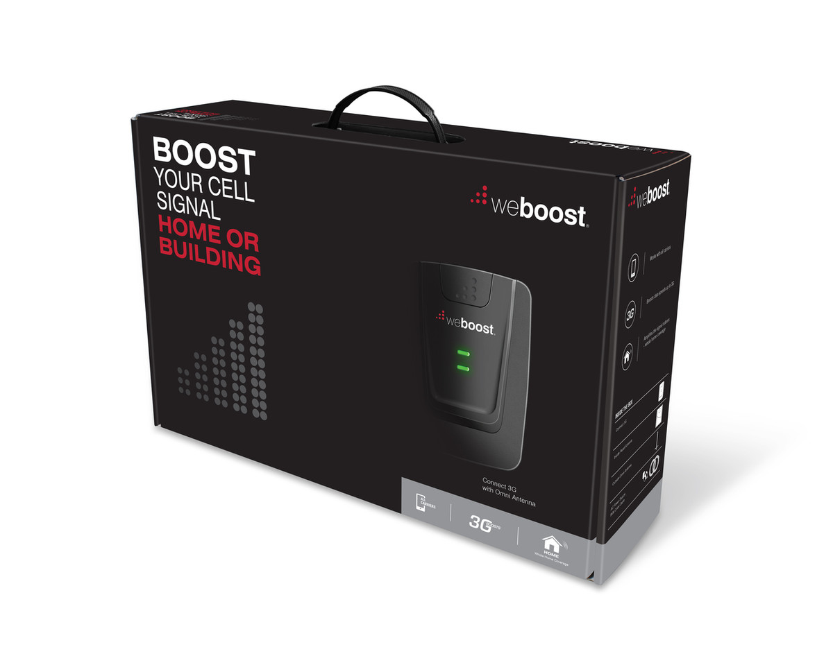 weBoost Connect 3G Omni Cell Phone Signal Booster | 472105 Box