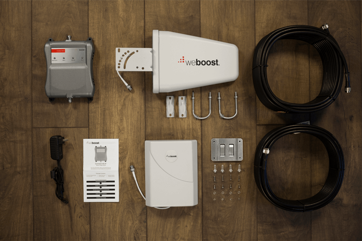 weBoost Connect 4G-X Cell Phone Signal Booster | 471104 Kit All