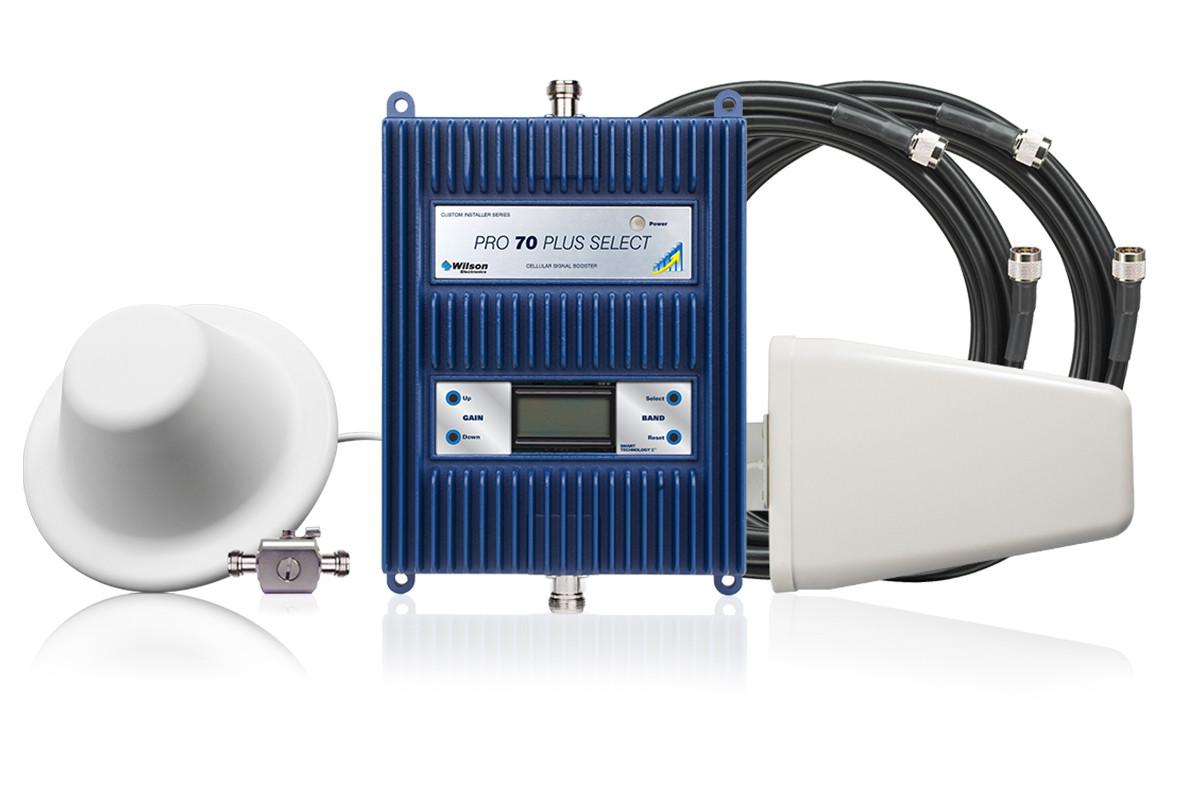 Wilson Pro 70 Plus Select (50 Ohm) with Yagi/Dome Antenna | 462227
